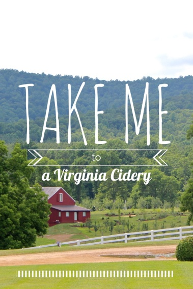 take me to a virginia cidery